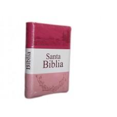 Biblia Mediana Rosada/Rojo RV 1960 Letra Mediana